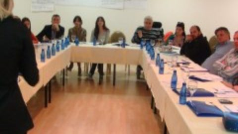 "The first training within the project ""Free Legal Aid for Marginalized Groups held in Budva"