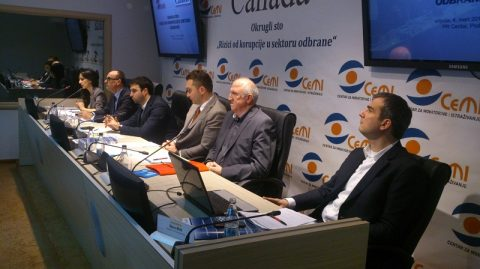 """Gallery – Roundtable """"Corruption risks in Defense Sector"""""""