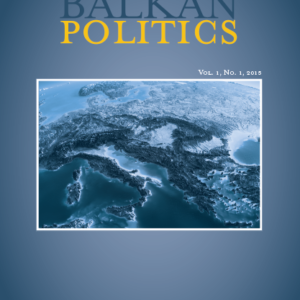 Comparative Balkan Politics, Volume 1, Issue 1