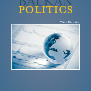 Comparative Balkan Politics, Volume 2, Issue 1