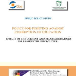 Policy for fighting against Corruption in Education