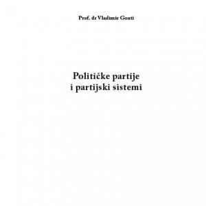 Politicke partije i partijski sistemi