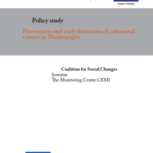 Prevention and early detection of colorectal cancer in Montenegro