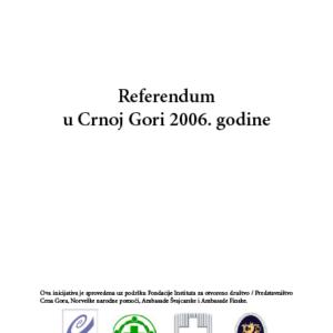 REFERENDUM U CRNOJ GORI 2006. GODINE