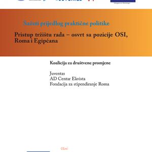 Sazeti prijedlog prakticne politike Pristup trzistu rada