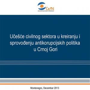 Ucesce civilnog sektora u kreiranju i sprovodjenju