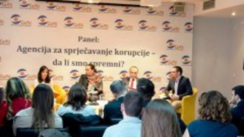 "The panel ""Anti-corruption Agency – are we ready?"" was held"