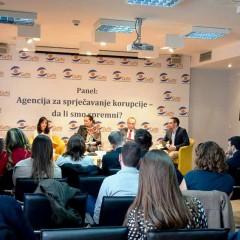 Jačanje think-tank kapaciteta u borbi protiv korupcije