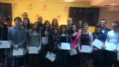 Diploma awards for III generation of School of Euro-Atlantic Integration held