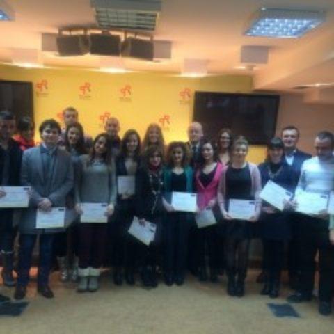 Diploma awards for III generation of School of Euro-Atlantic Integration held