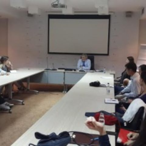 His Excellency, Ambassador of the Republic of Slovenia held a lecture at the School for Euro-Atlantic Integration