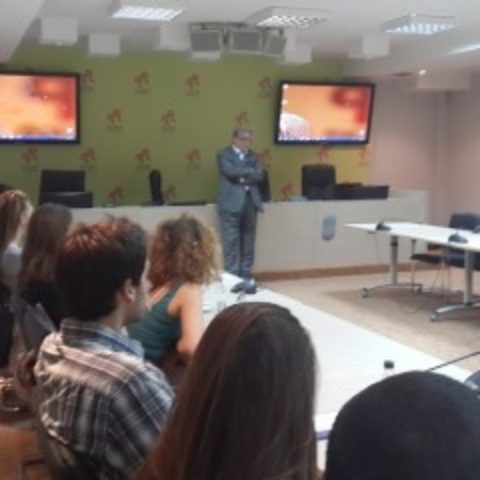 National Coordinator for NATO in the Government of Montenegro and the Foreign Affairs Adviser to the Prime Minister, Ambassador Nebojsa Kaludjerovic held a lecture at the School for Euro-Atlantic Integration
