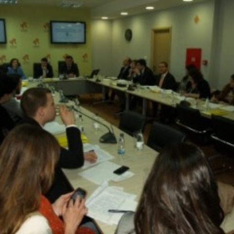"""Održan Okrugli sto """"Snažna ovlašćenja administrativne istrage kao preduslov za bolje rezultate u borbi protiv korupcije u Crnoj Gori"""""""