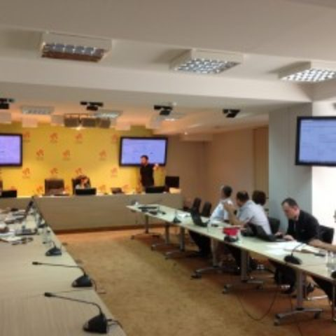 Training on Electronic Data Entry in relation to the Financing of Political Parties held in Podgorica