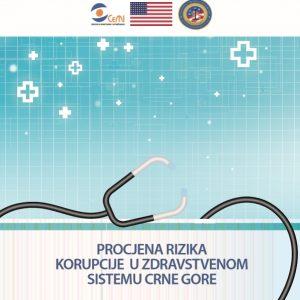 Procjena rizika korupcije u zdravstvenom sistemu Crne Gore