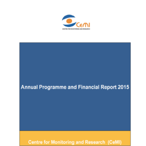 Annual Programme and Financial Report 2015