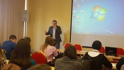 "The second workshop on the theme ""Youth and Citizenship EU"" was organized"