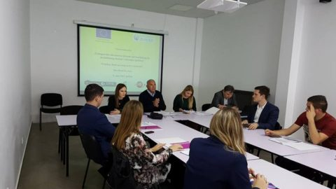 "Successfully held the third workshop on ""Montenegrin educational system from the theoretical to the practical knowledge and skills acquisition"""