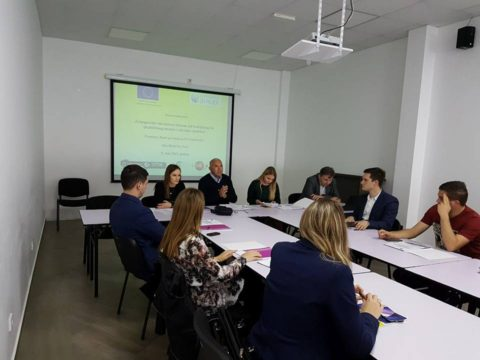"""Successfully held the third workshop on """"Montenegrin educational system from the theoretical to the practical knowledge and skills acquisition"""""""