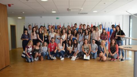 """Uspješno završena studijska posjeta """"Neformalni obrazovni sistem za mlade u Sloveniji"""""""