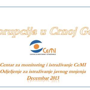 Korupcija u Crnoj Gori