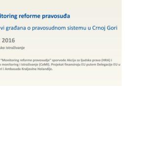 Monitoring reforme