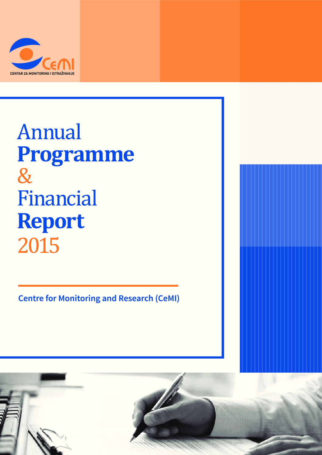 Annual Program and Financial Report 2015