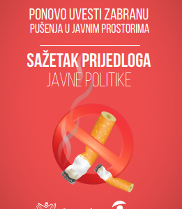 Zabrana pusenja u javnim prostorijama