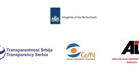 ADI Sarajevo, CeMI i Transparentnost Srbija organizuju sastanak u Sarajevu