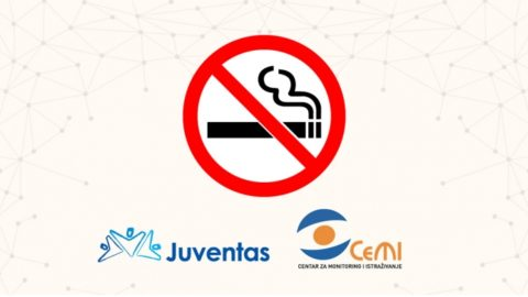 The Ministry of Health supported the initiative to ban smoking in public places