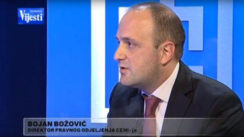 Božović: Jasno utrvđena praksa ključni nedostatak Tarifnog broja 11