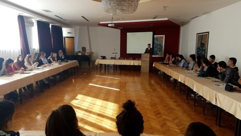 Within the International scholl, 50 pupils and students gained knowledge of youth policies