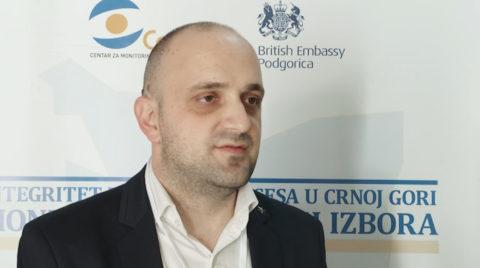 Božović: Članovi BO da nose akreditacije i ne koriste mobilne telefone