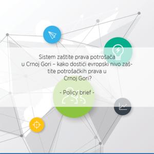 Sistem zaštite prava potrošača u Crnoj Gori – kako dostići evropski nivo zaštite potrošačkih prava u Crnoj Gori?