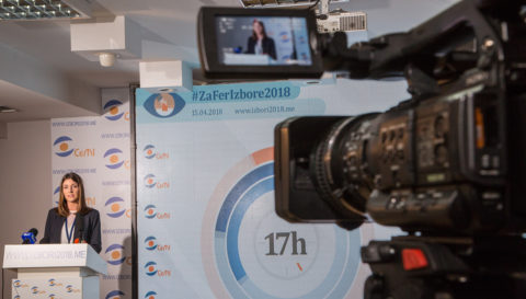 49.5% voters from whole of Montenegro used their electoral right until 17 PM