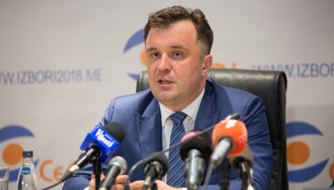 On the basis of 53,1% processed data, Đukanović wins the highest number of votes