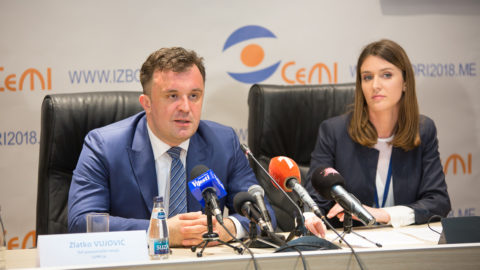 Djukanovic Von in the First Round of Elections