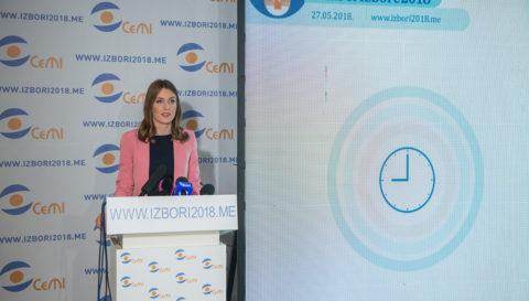 Izlaznost do 9 sati u Podgorici 7,7 odsto