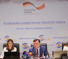 Na osnovu 46 odsto obrađenih biračkih mjesta DPS ima najviše glasova u Podgorici