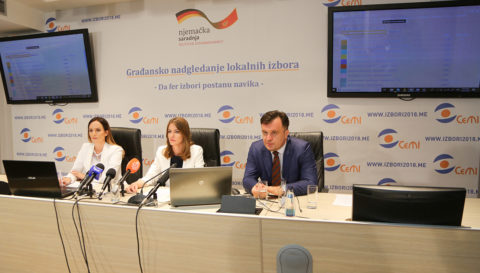 The DPS Won 32 Seats Based on 95 Percent of Podgorica's Polling Stations