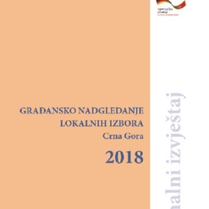 Građansko nadgledanje lokalnih izbora 2018