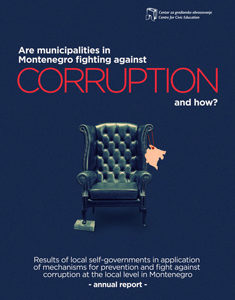 Are municipalities in Montenegro fighting against corruption and how