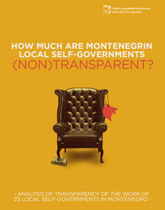 How Much Are Montenegrin Local Self-Governments(Non)Transparent?
