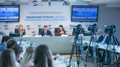 Medenica: All state mechanisms should work in unity with the goal of achieving results in financial investigations