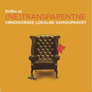 Koliko su (ne)transparentne crnogorske lokalne samouprave?