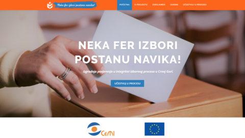 CeMI kreirao e-platformu za reformu izbornog zakonodavstva