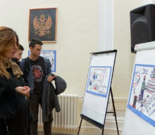 Exhibition presented the ideas for improving the position of youth