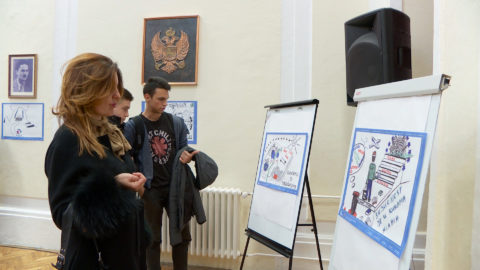 Izložbom predočene ideje za unapređenje položaja mladih