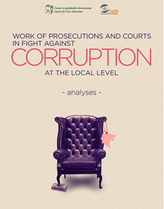 Work of Prosecutions and Courts in Fight Against Corruption at the Local Level