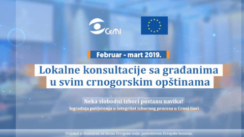 CeMI is organizing local consultations with citizens about the electoral reform